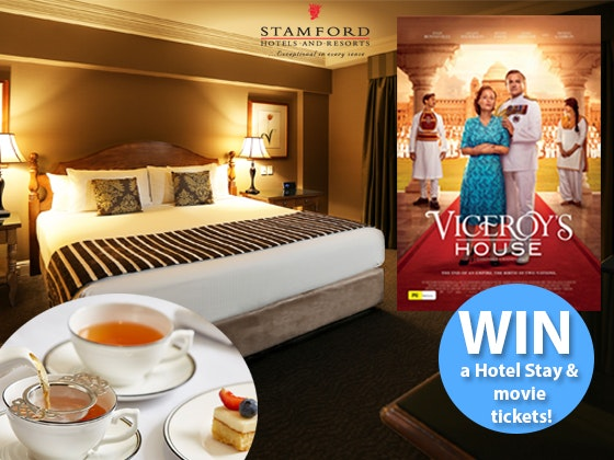 Luxury hotel stay with high tea experience and movie tickets  sweepstakes