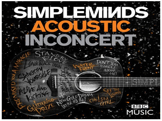 """""""Acoustic In Concert"""" by Simple Minds on DVD sweepstakes"""