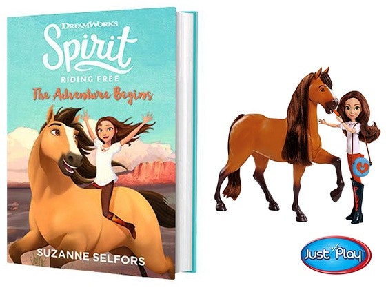 Spirit Riding Free Book & Doll sweepstakes