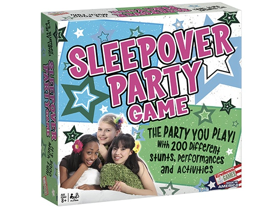 Sleepover Party Game Board Game sweepstakes