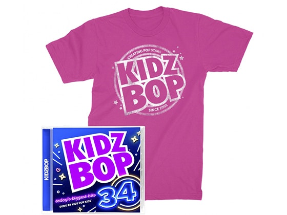Kidz Bop Prize Package sweepstakes