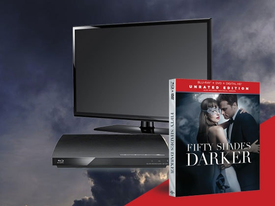 50 Shades Darker TV Bluray Giveaway sweepstakes