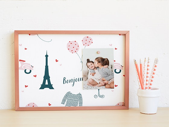 Custom Pinboard from Minted sweepstakes
