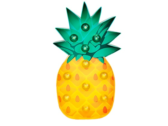 SunnyLife Pineapple Marquee Light sweepstakes