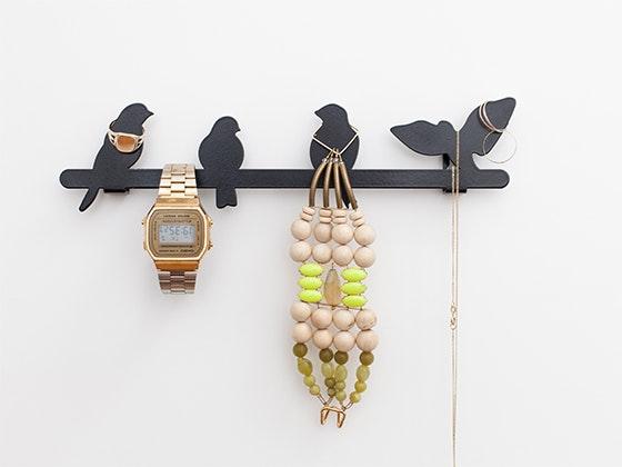 Black Bird Jewelry Hanger from Kikkerland sweepstakes