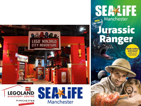 Legoland & Sea Life Manchester sweepstakes
