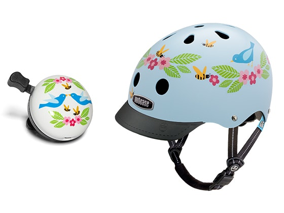 Birds & Bees Bike Bell & Helmet sweepstakes