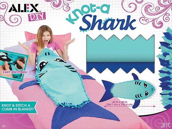 Knot-A-Shark DIY Blanket Kit sweepstakes