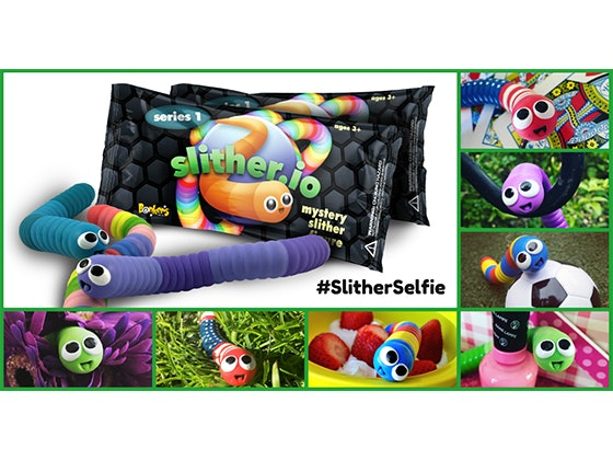 Slither.io Super-Fan 6 Pack from Bonkers Toys sweepstakes