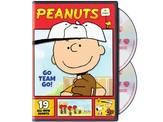 Peanuts by Schulz: Go Team Go! on DVD sweepstakes