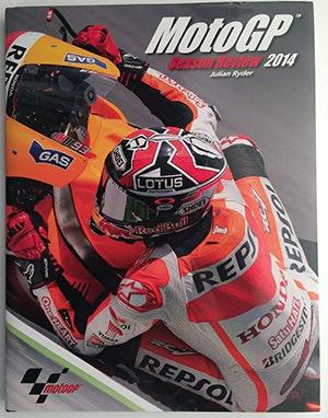 Official MotoGP 2014 Season Review book sweepstakes