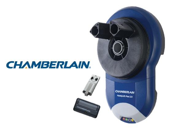 Chamberlain HandyLift Plus 2.0 DIY garage door opener sweepstakes