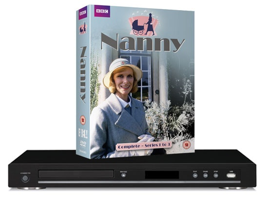 Nanny Complete Series 1-3 DVD box-set & a Blu-ray player sweepstakes