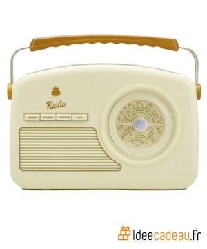 Radio ideecadeau beige