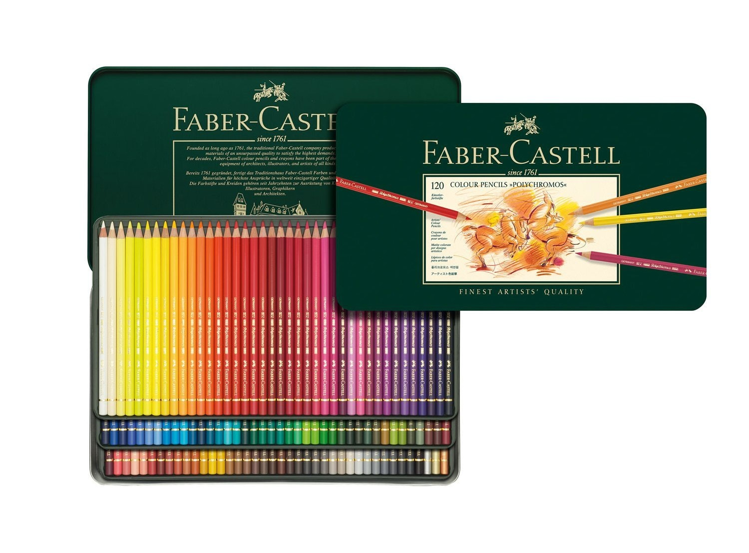Faber-Castell Color Pencil Polychromos Tin of 120 sweepstakes