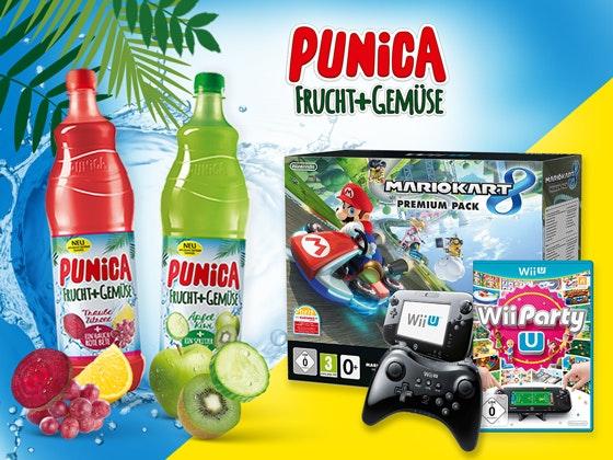 Gewinne mit Punica Frucht + Gemüse Gewinnspiel