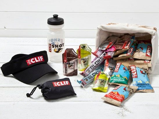 a Clif Bar hamper  sweepstakes