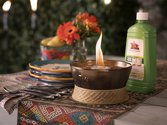 Clean Burn Tabletop System from TIKI Brand sweepstakes
