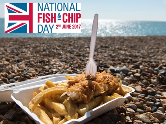 Family break to brighton national fish and chop week competition