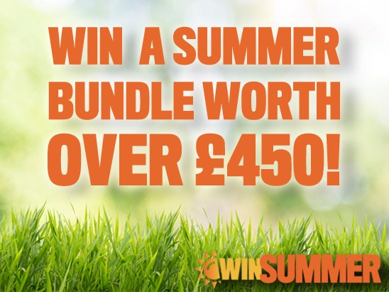 Summer bundle worth over £450!  sweepstakes
