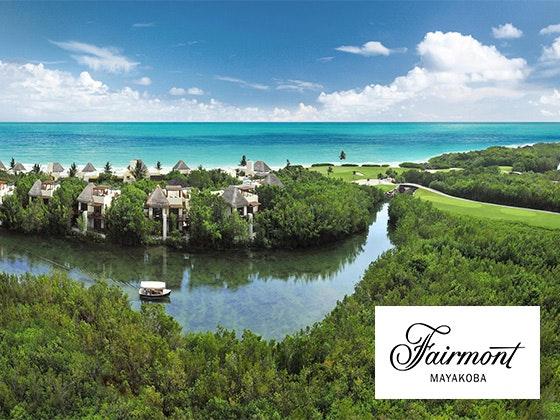 Fairmont Mayakoba Resort in Mexico Trip sweepstakes