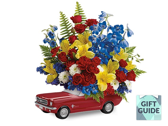 Father's Day: Teleflora '65 Ford Mustang Bouquet sweepstakes