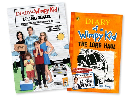 signed DIARY OF A WIMPY KID: THE LONG HAUL book sweepstakes