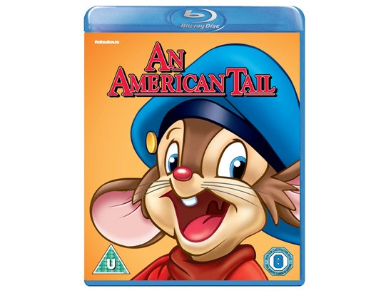 a Copy of An American Tail on Blu-ray sweepstakes