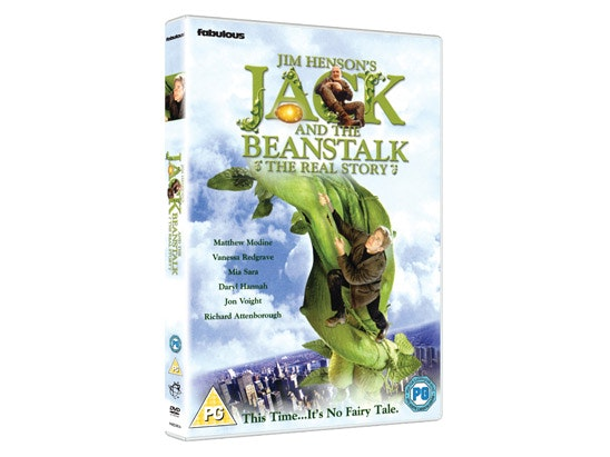 a Copy of Jack and the Beanstalk: The Real Story on DVD sweepstakes