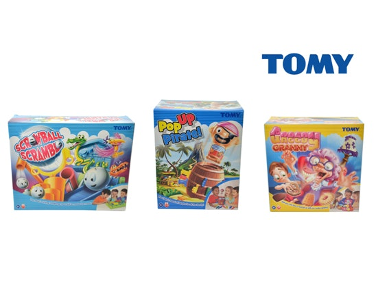 a TOMY games bundle sweepstakes