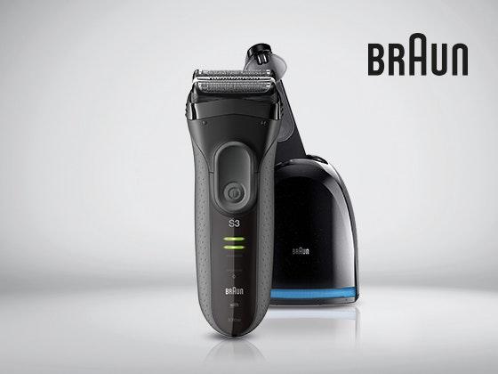 Braun verlost den Series 3 ProSkin Rasierer Gewinnspiel