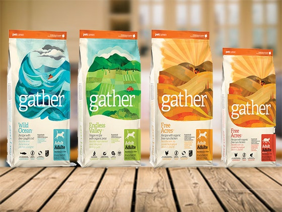 NEW GATHER Organic Pet Food from Petcurean sweepstakes