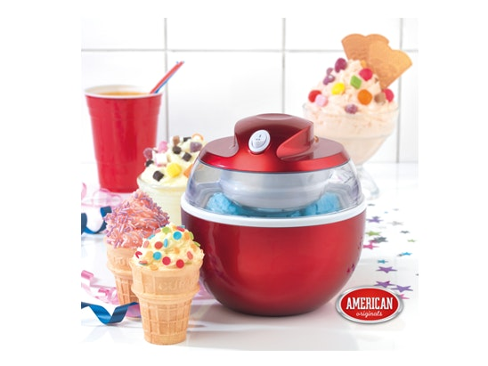 an American Originals Ice-Cream Maker sweepstakes