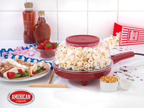 American Originals Popcorn and Crêpe Maker sweepstakes