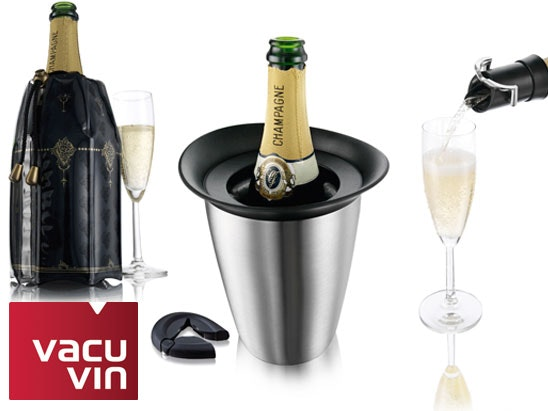 a Vacu Vin Champagne set sweepstakes