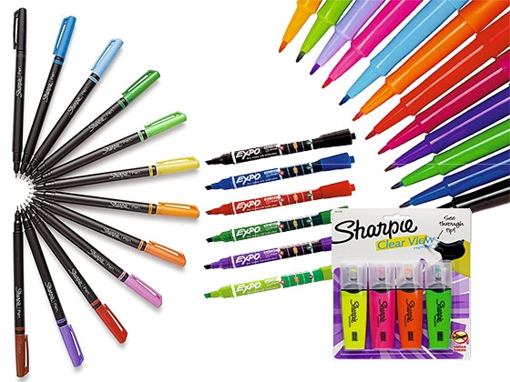 Sharpie expo papermate