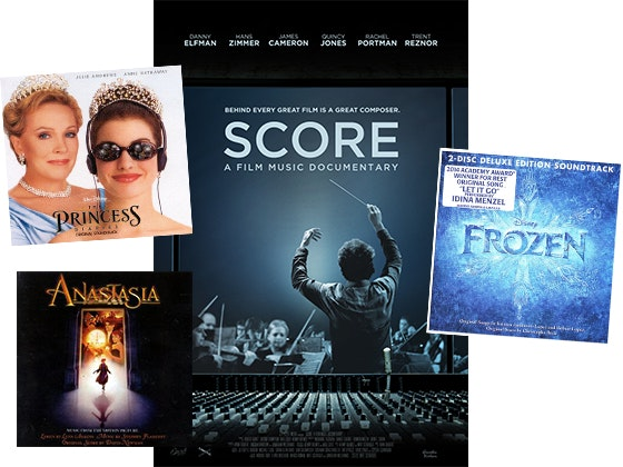 "Autographed Soundtracks of ""Frozen"", ""The Princess Diaries"", and ""Anastasia"" sweepstakes"