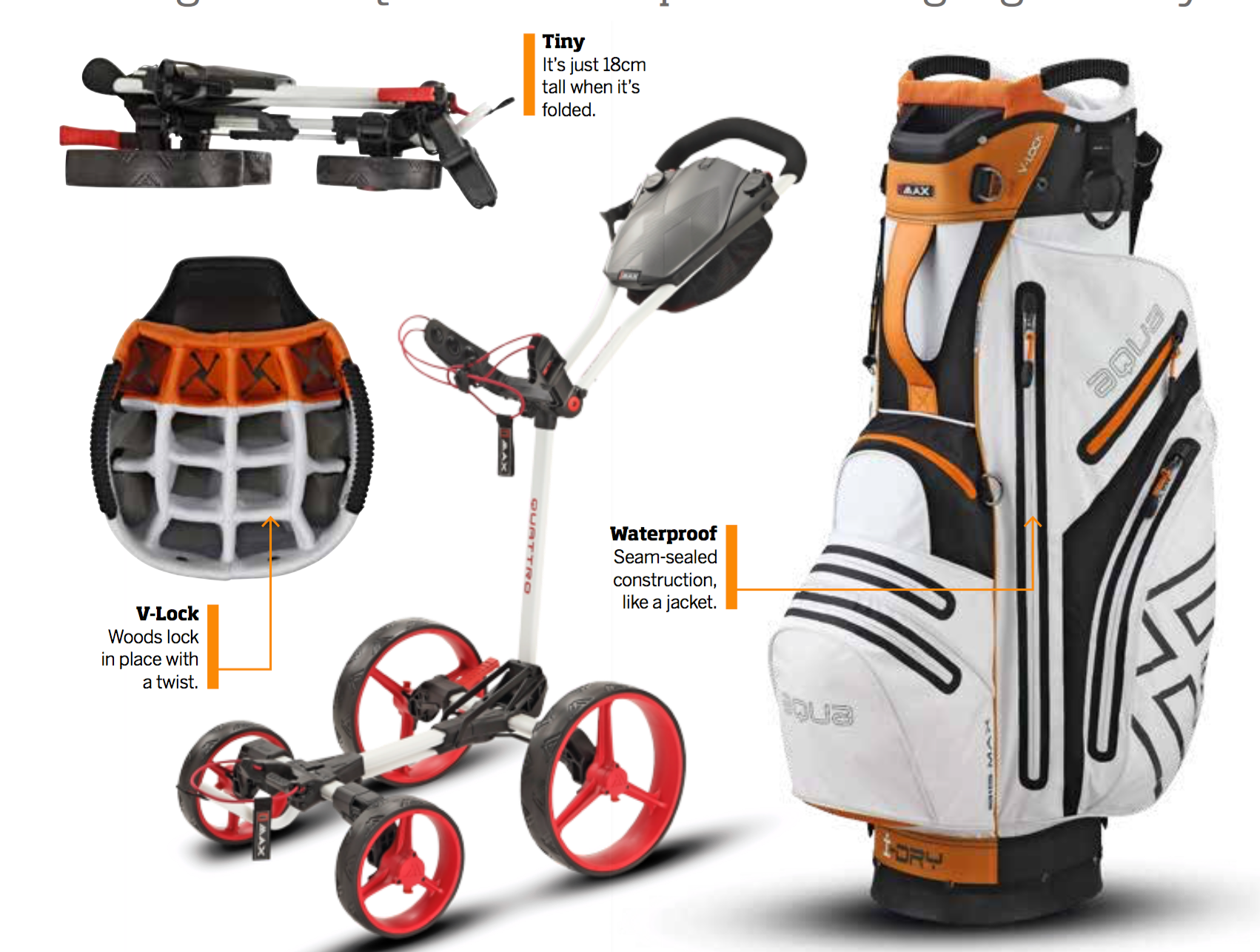 Win a Big Max Trolley & Bag Combo sweepstakes
