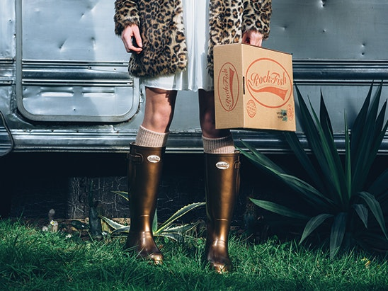 Rockfish wellington boots  sweepstakes