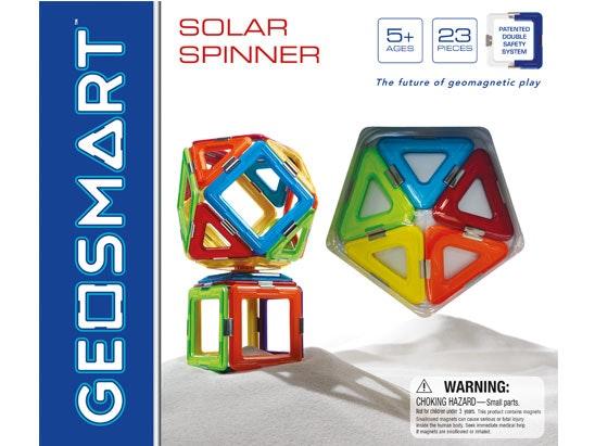 GeoSmart™ solar spinner sweepstakes