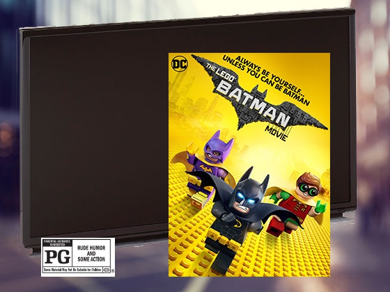 HDTV, LEGO Batman Movie sweepstakes