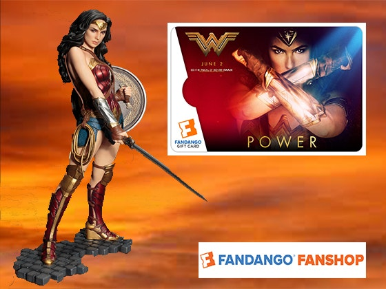 Wonder woman fandango giveaway