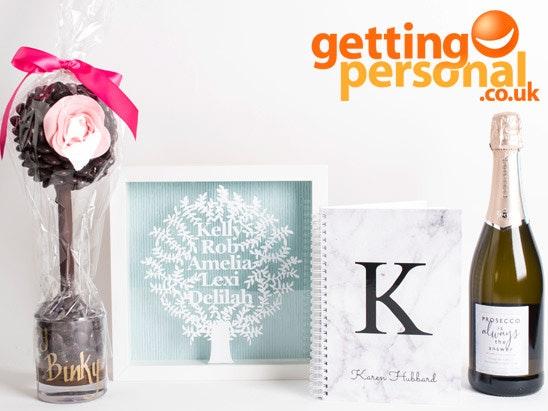 £50 for GettingPersonal.co.uk sweepstakes