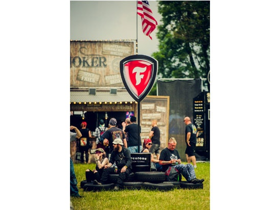 festival goodies with Firestone sweepstakes