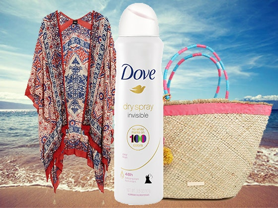 """Beach Bag Essentials"" Prize Package from Dove sweepstakes"