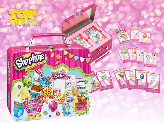 Shopkins Prize Package Top Trumps sweepstakes