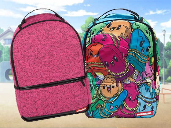 Happy Pops and Pink Sprayground Backpack sweepstakes