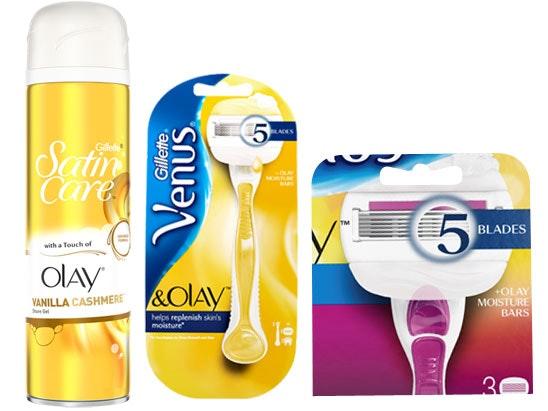 a Gillette Venus summer shaving kit sweepstakes