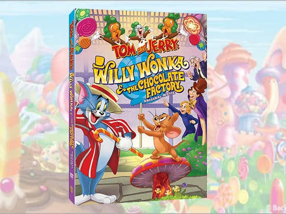 Tom and Jerry: Willy Wonka & the Chocolate Factory on DVD sweepstakes