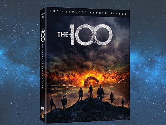 The 100 Complete Fourth Season on DVD sweepstakes